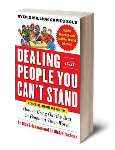 Book by Dr. Rick Brinkman