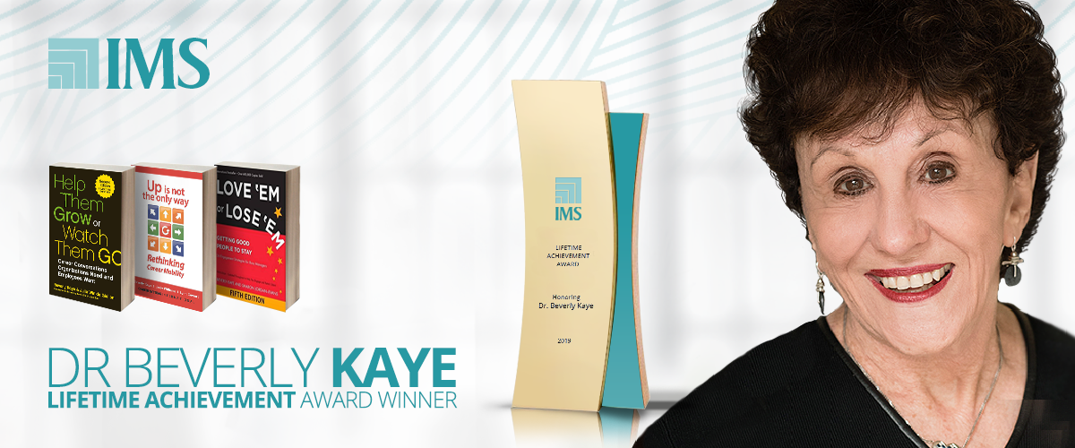 IMS Lifetime Achievement Award - Dr. Beverly Kaye